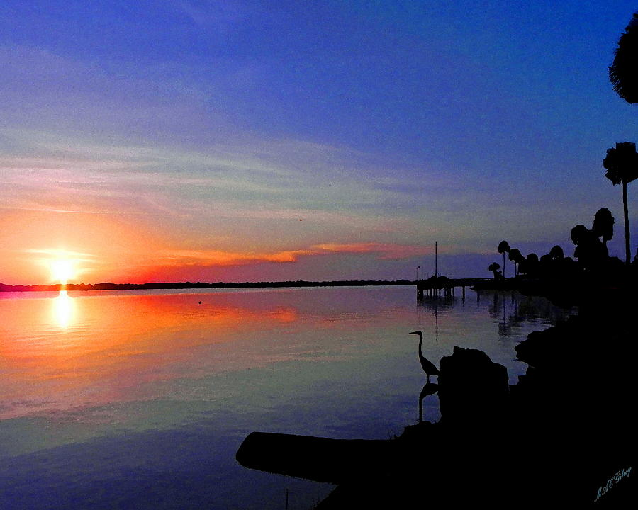 Nature Photograph - Sunrise / Sunset / Indian River by MGilroy