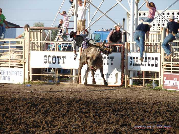 Kansas Photograph - Wild West Rodeo 0122 by Stan Hutchins