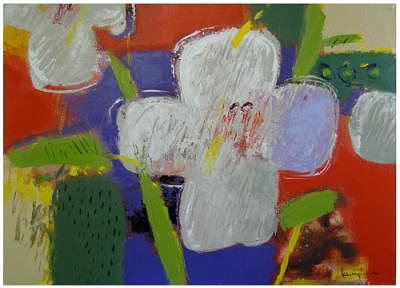 17.east Side Flowers 06-f01  Painting by Andy Kim