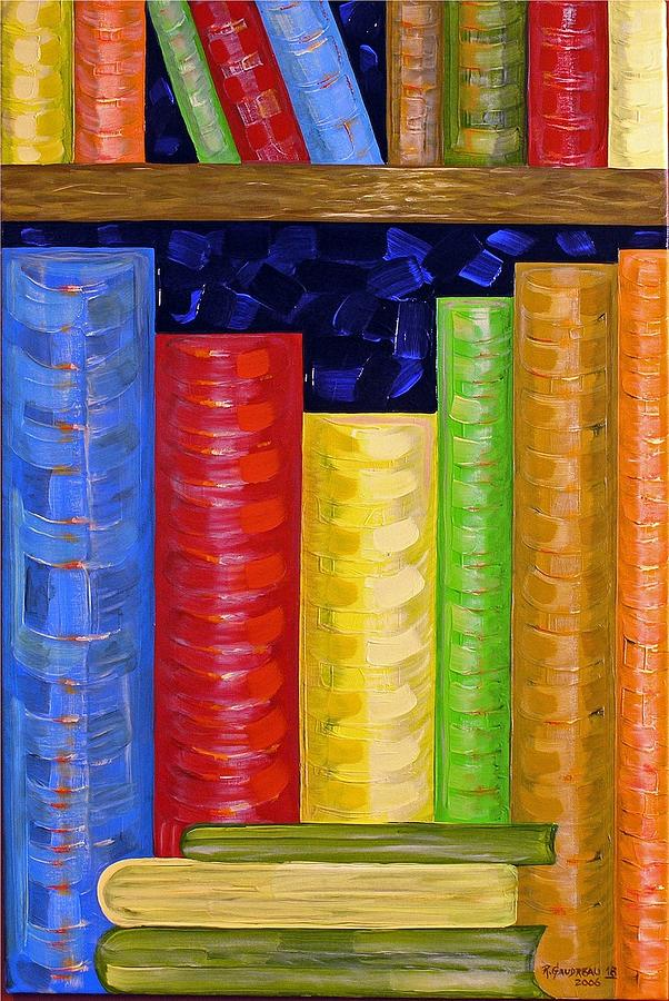 Abstract Expressionism Painting - 18 Books by Robert Gaudreau
