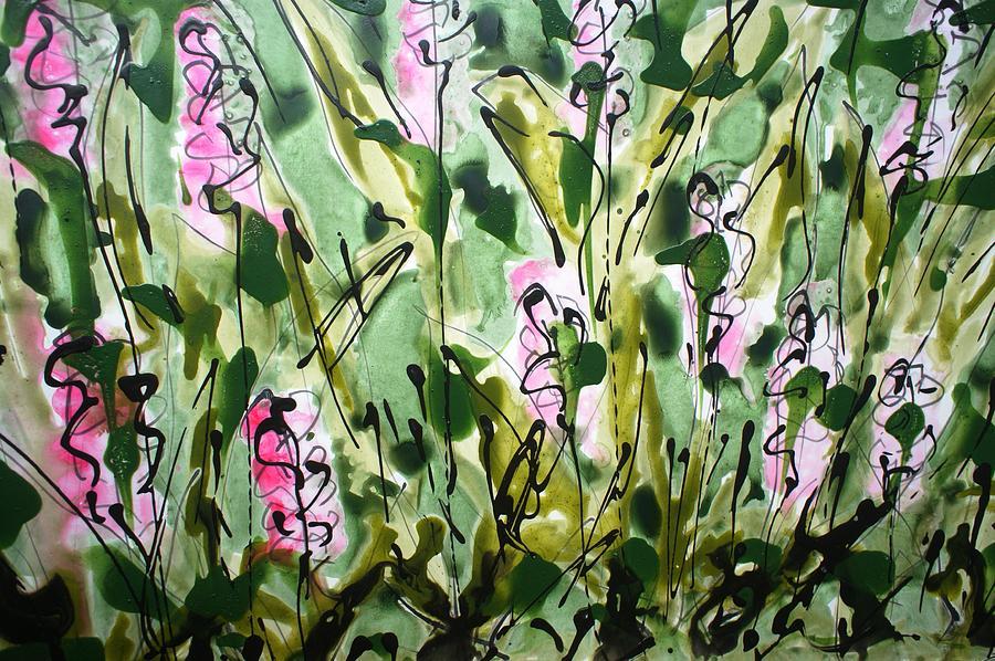 Divine Bloom Painting