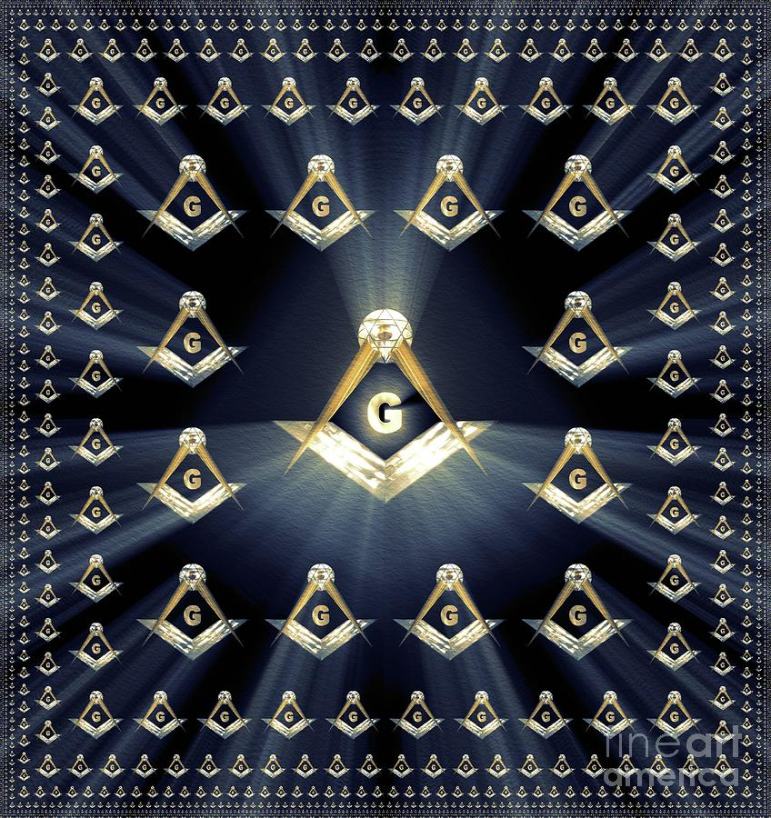 Freemason, Masonic, Symbols Painting
