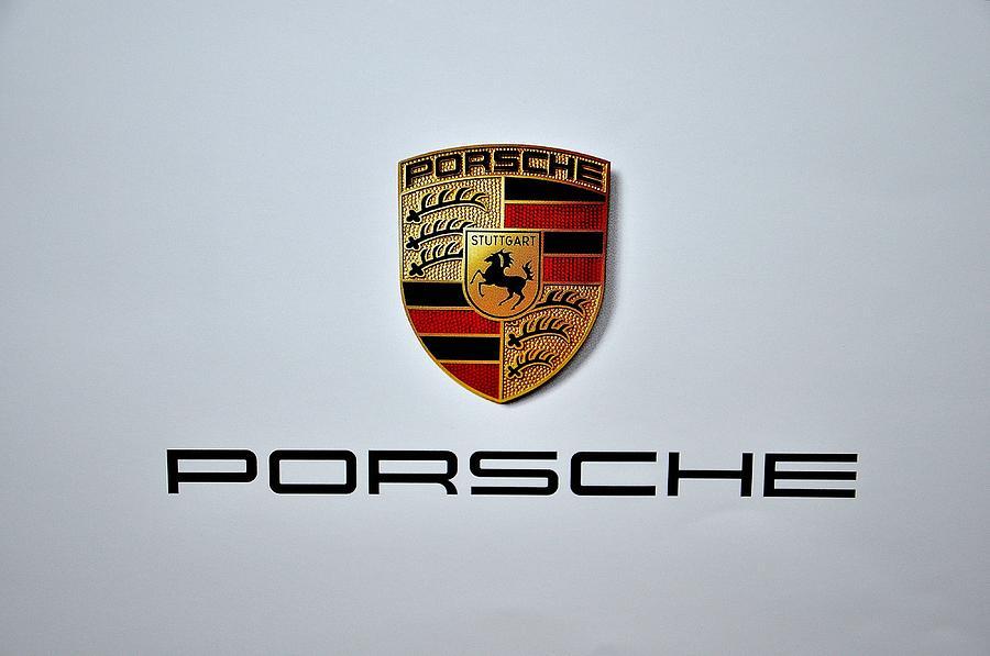 Porsche Logo Digital Art - Porsche Logo by Max Dedrick