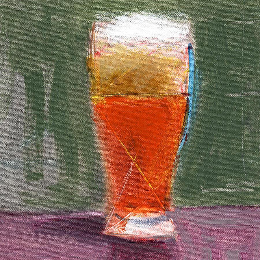 Beer Painting - Rcnpaintings.com by Chris N Rohrbach