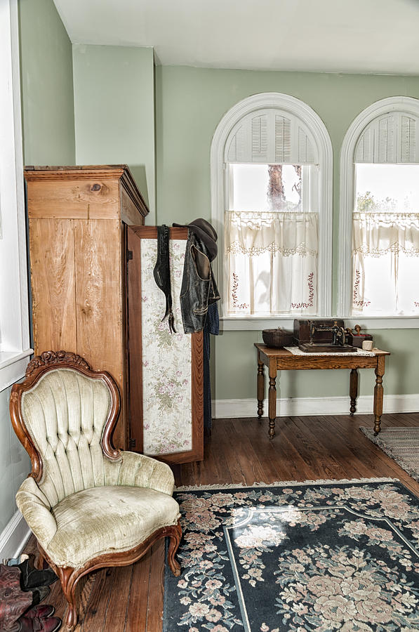 1800 Closet and chair by Linda Constant