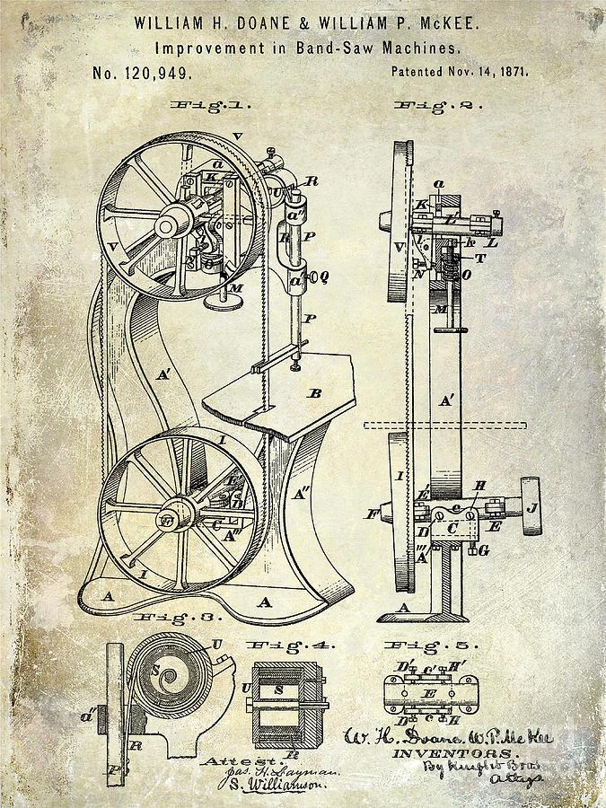 Colt Revolver Photograph - 1839 Colt Firearms Patent by Jon Neidert