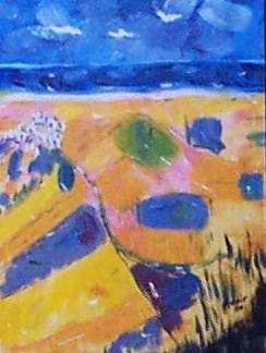 Bolonia Painting - Bolonia by Adair Robinson