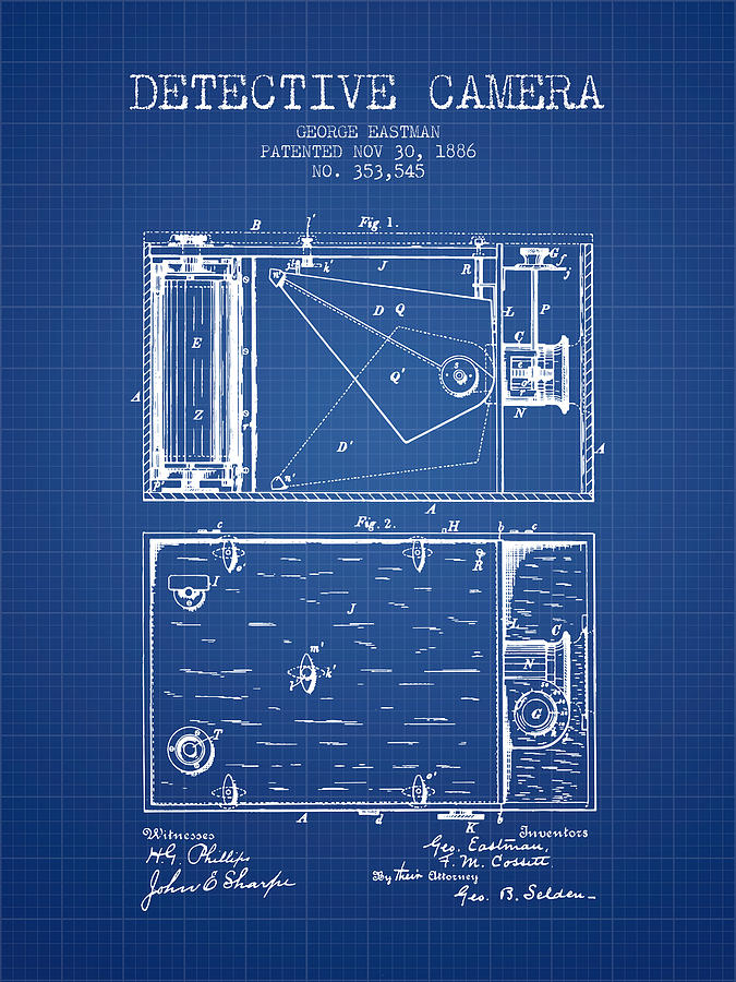 1886 detective camera patent blueprint digital art by aged pixel camera digital art 1886 detective camera patent blueprint by aged pixel malvernweather Gallery