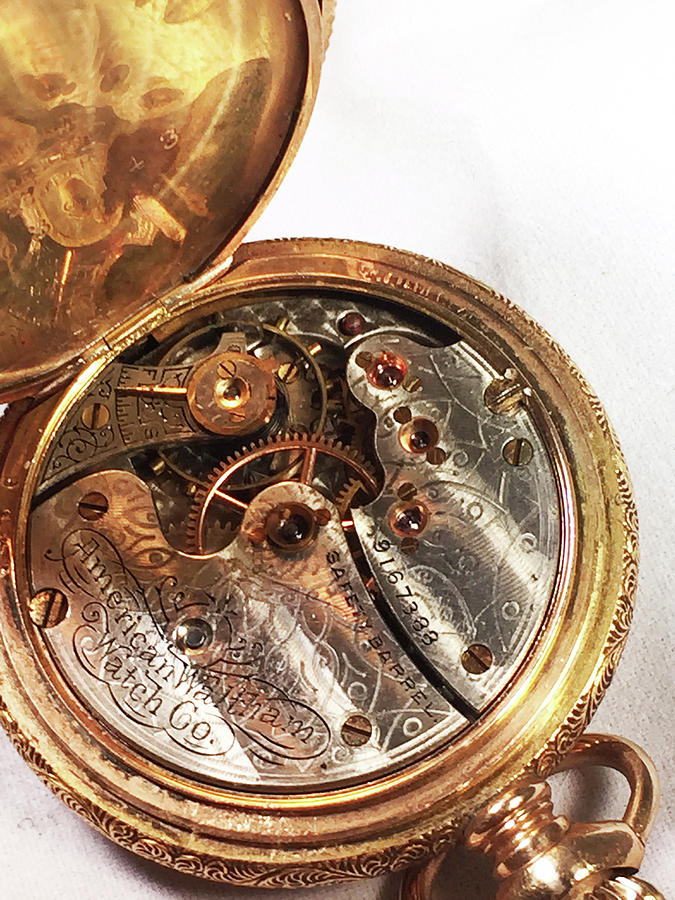 1887 Waltham Pocketwatch by Geoff Jewett