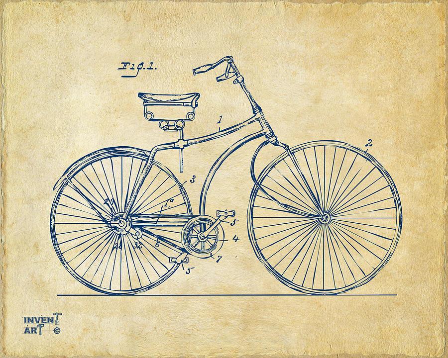 Bicycle Patent Art