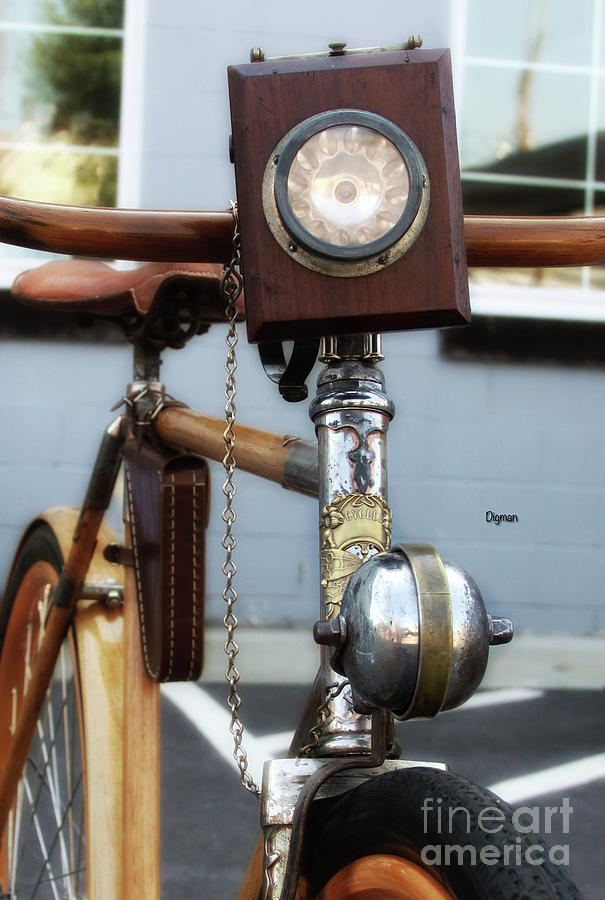 Bicycle Photograph - 1898 Cycles  by Steven Digman