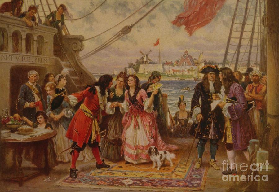 18th Century Sailing Photograph