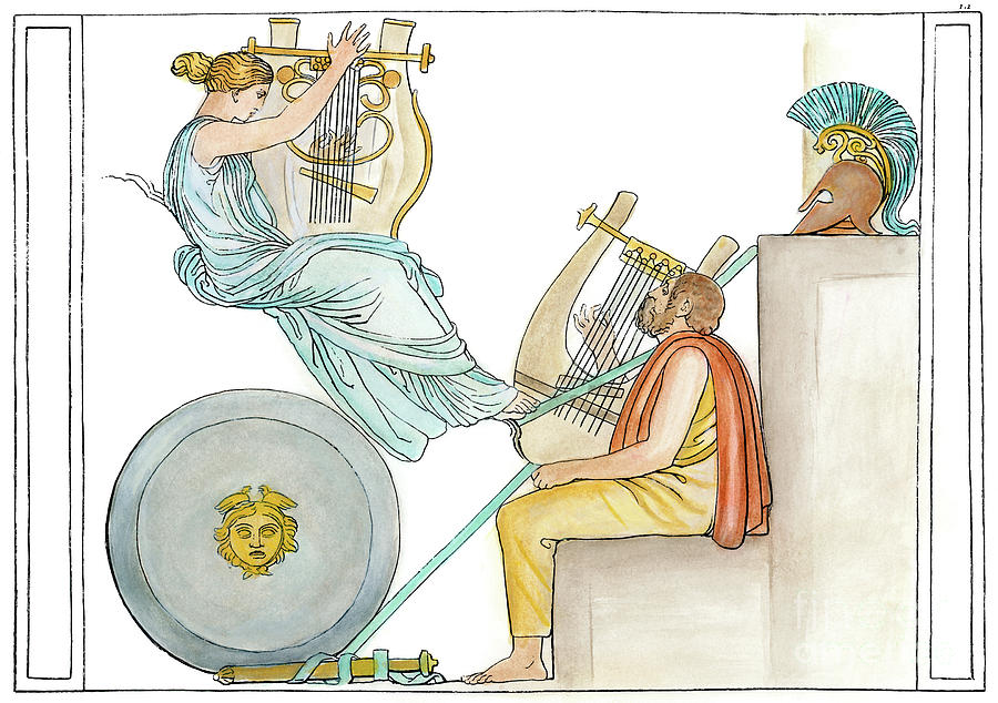 a summary on the greek gods involvement in the iliad by homer Helen appears in only six encounters in the iliad,  helen:causa belle and victim of war homer creates helen as a complex and suffering figure with a good.