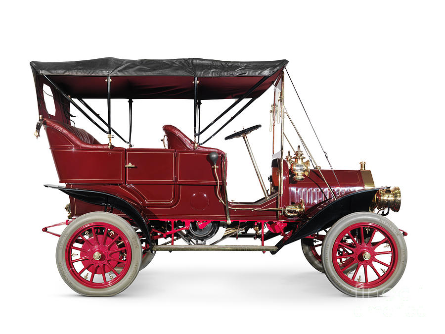 1908 Mclaughlin Buick Model F Vintage Car Photograph by Oleksiy ...