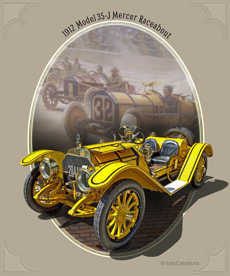 1912 Model 35-J Mercer Raceabout by Roger Beltz