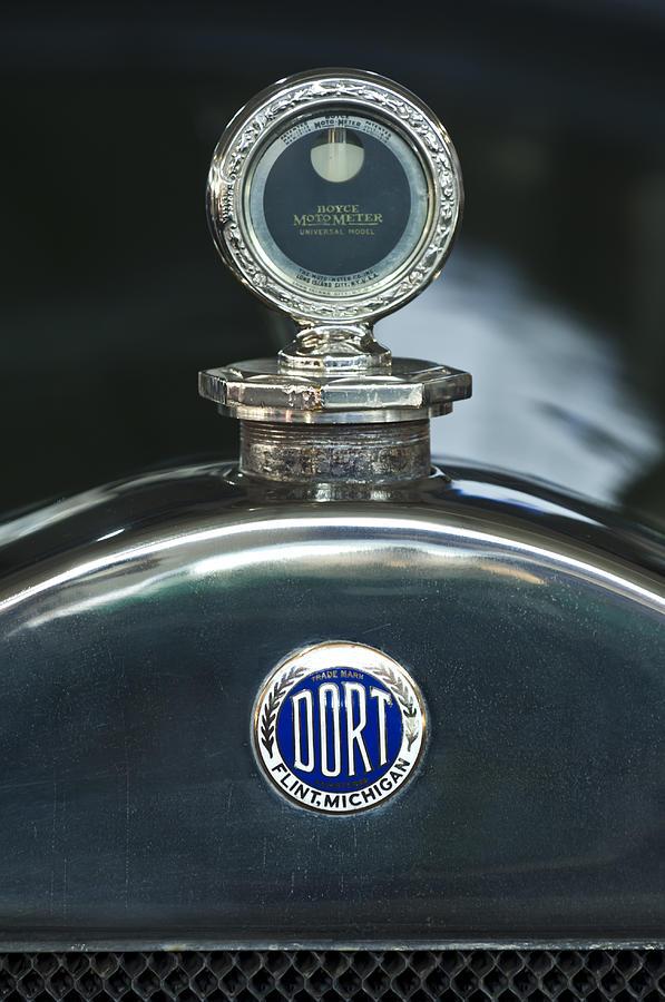 1923 Dort Sport Photograph - 1923 Dort Sport Hood Ornament by Jill Reger
