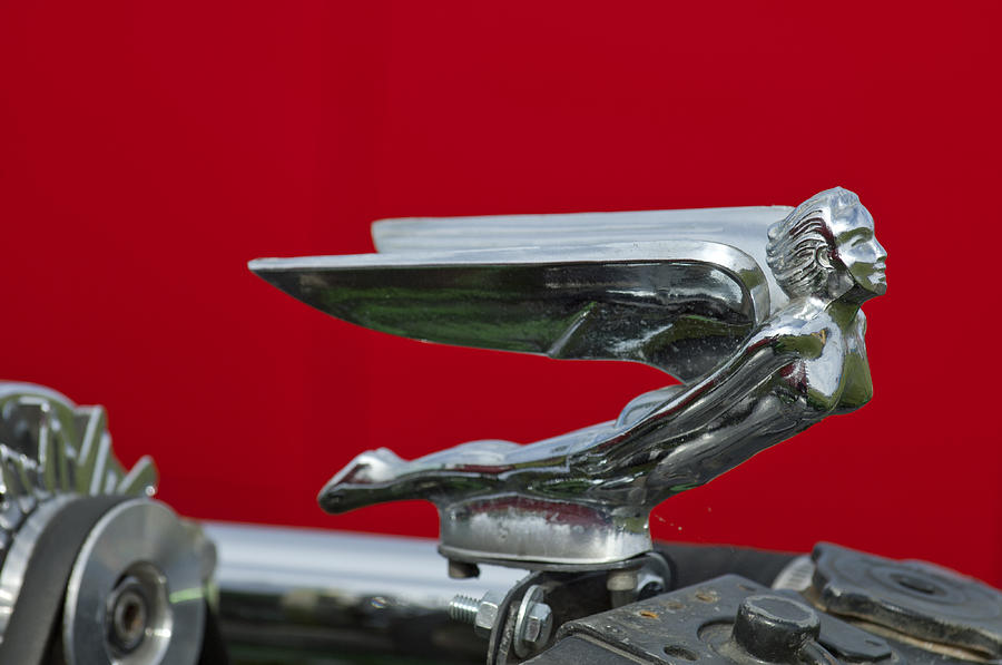 Hood Ornament Photograph - 1924 Ford Hood Ornament by Jill Reger