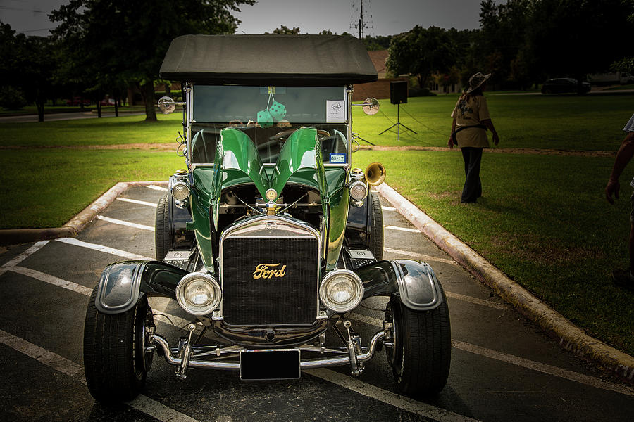1924 Ford Model T Touring Hot Rod 5509.007 Photograph by M K Miller