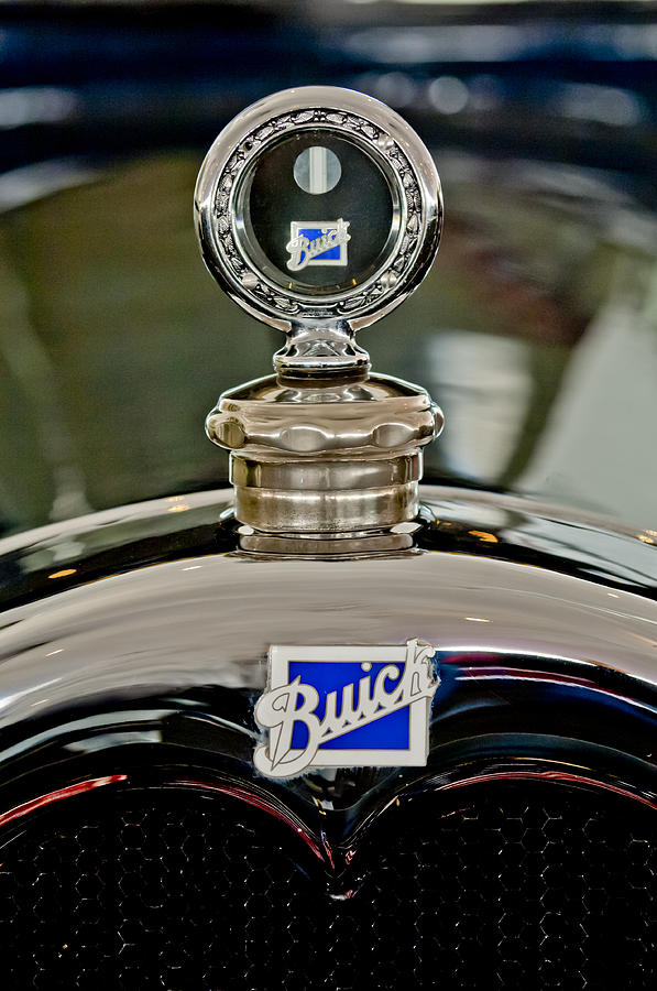 1926 Buick Photograph - 1926 Buick Boyce Motometer by Jill Reger