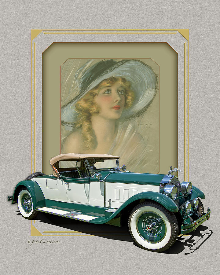 1928 Packard 443 Roadster Convertible by Roger Beltz