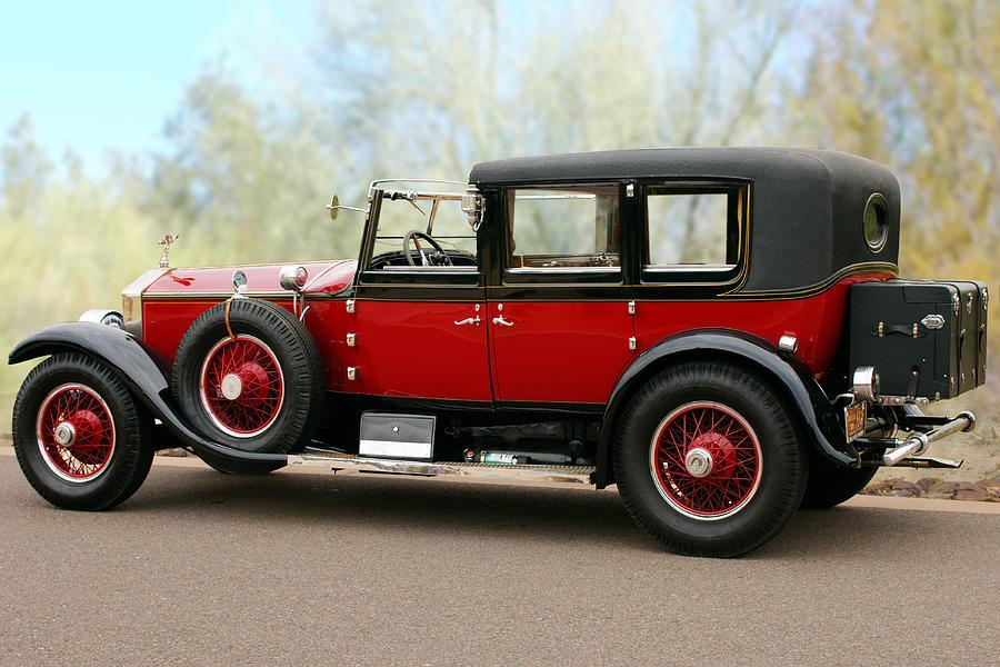 1928 Rolls-Royce Phantom 1 Photograph by Jill Reger