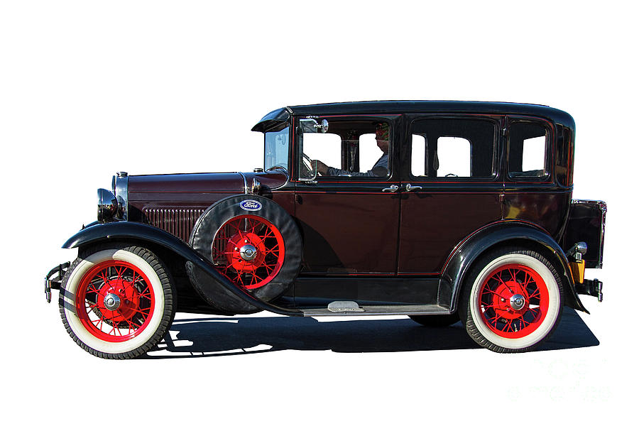Ford Photograph - Beautiful Ford Sedan by Nick Gray