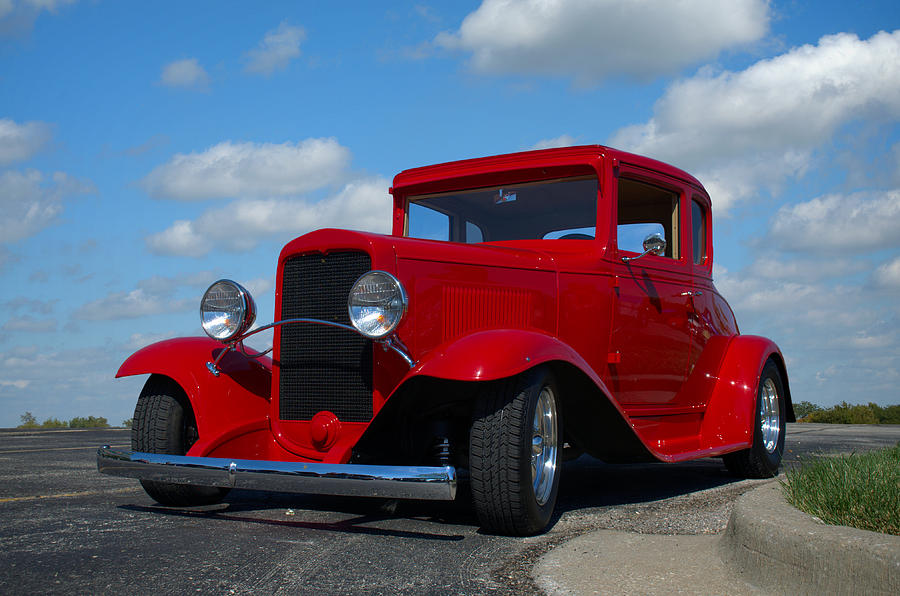 1930 Chevrolet Coupe Hot Rod Photograph by Tim McCullough