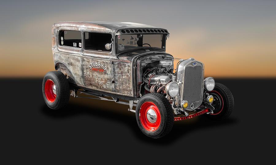 1930 Ford 2 Door Sedan Rat Rod 30fd2drsd500