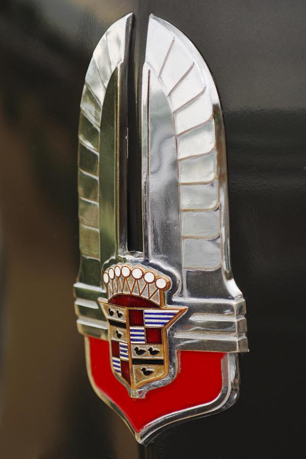 1930's Cadillac Emblem Photograph - 1930s Cadillac Emblem by Jill Reger