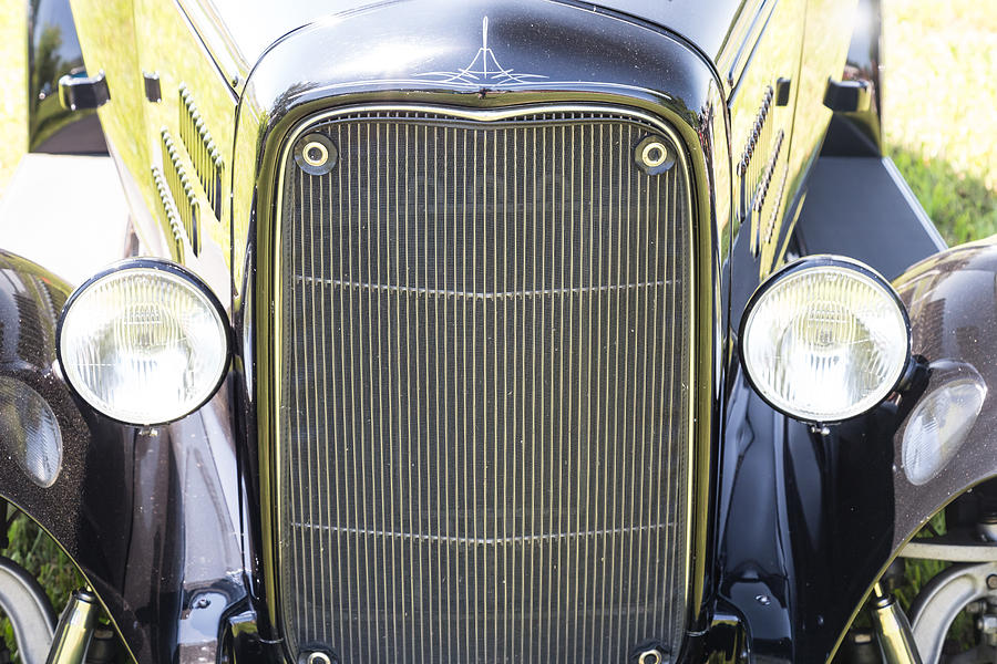 1931 Ford A400 Front Close-up Photograph