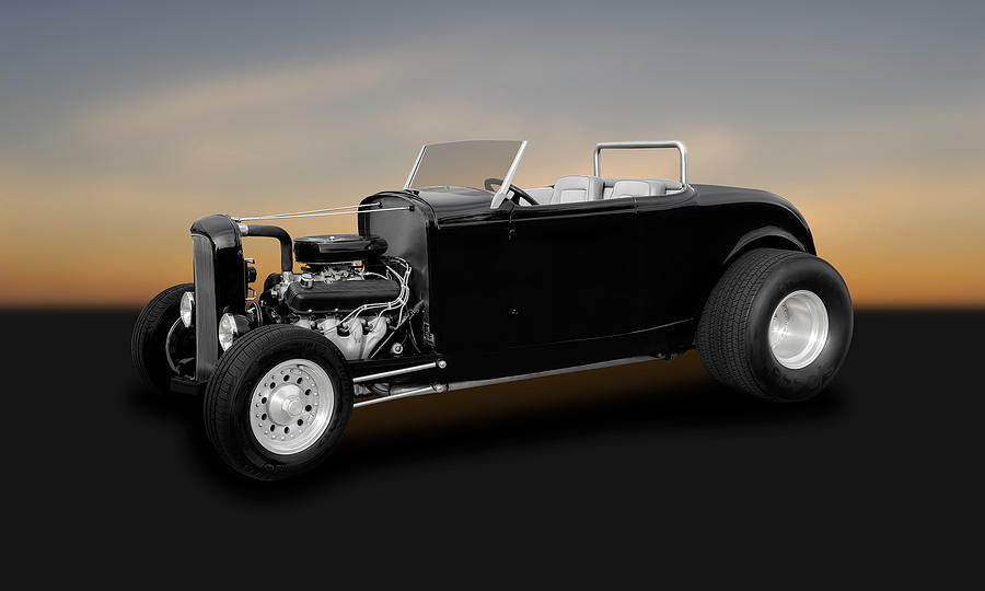 1932 Ford Deuce Coupe Convertible Hot Rod - 32fdducp400 Photograph ...