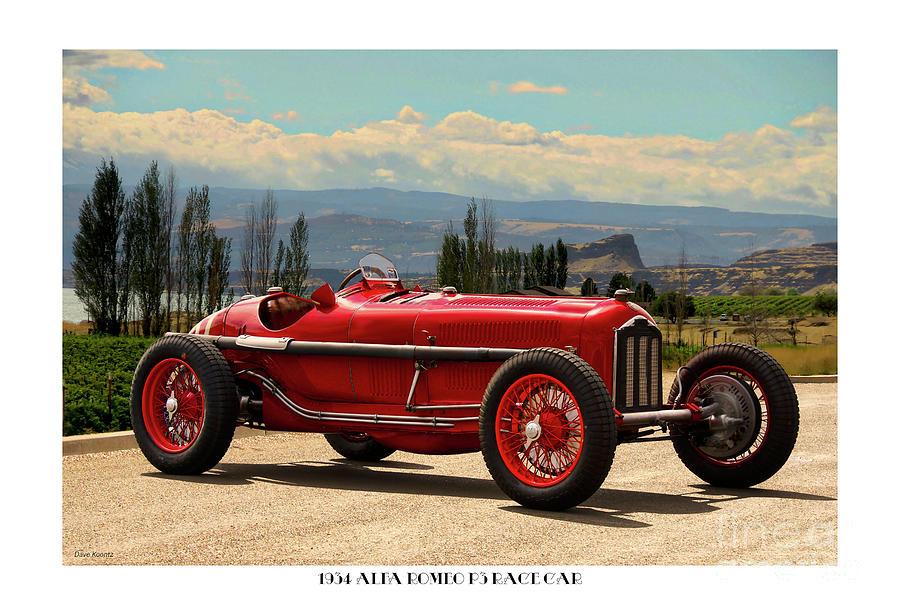 Vintage Alfa Romeo >> 1934 Alfa Romeo P3 Vintage Race Car I