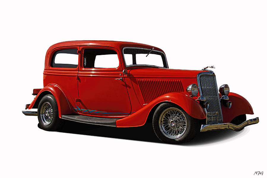 1934 Photograph - 1934 Ford 2 Door Sedan by Nick Gray