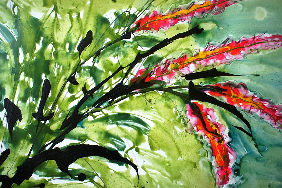 Flowers Painting - Heavenly Flowers by Baljit Chadha