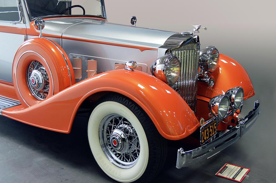 1934 Packard 8 by Bill Dutting