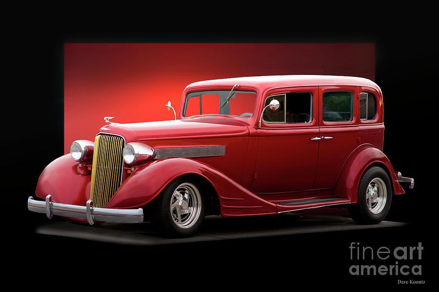 1934 Pontiac Deluxe 8 Sedan II
