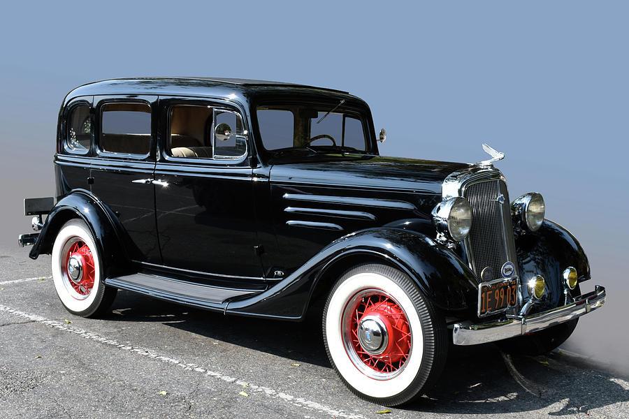 1935 Chevrolet Photograph by Bill Dutting