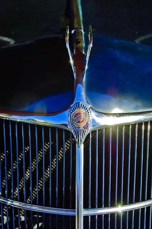 Mascot Photograph - 1935 Chrysler Hood Ornament 2 by Jill Reger