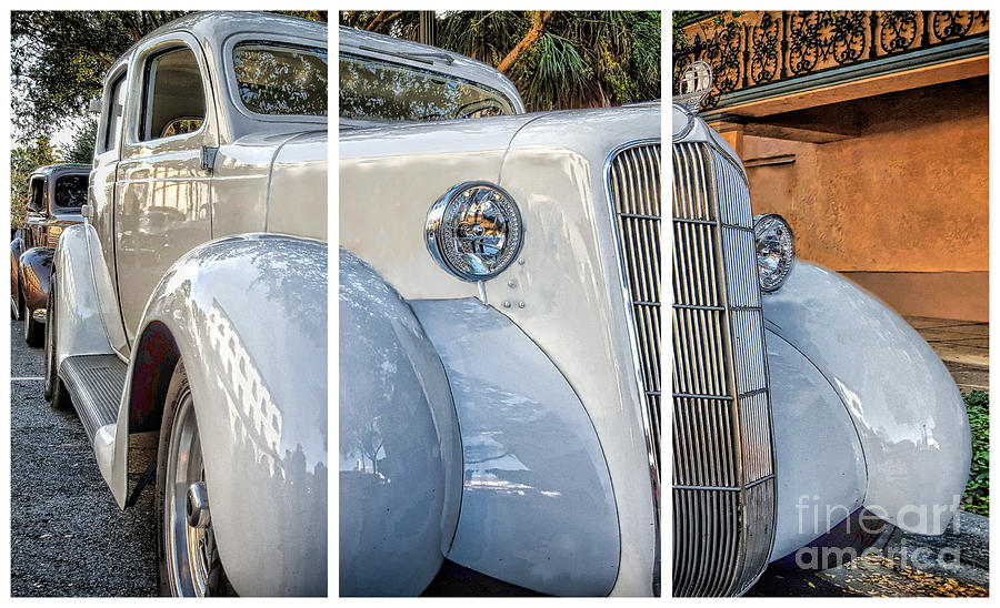 1935 Plymouth Coupe - Series 2 Of 3 Photograph