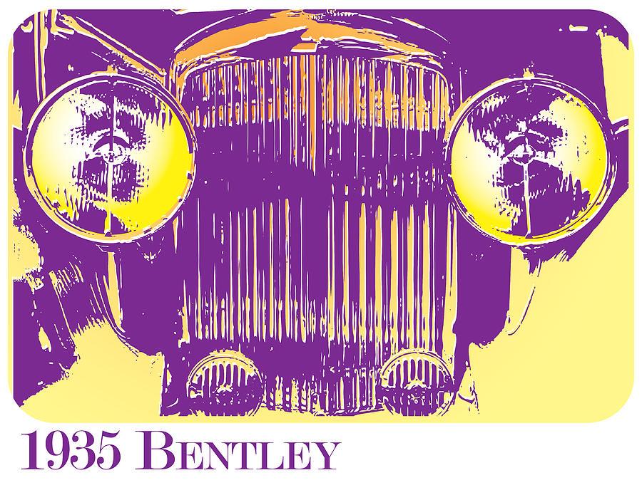 1935 Bentley Digital Art