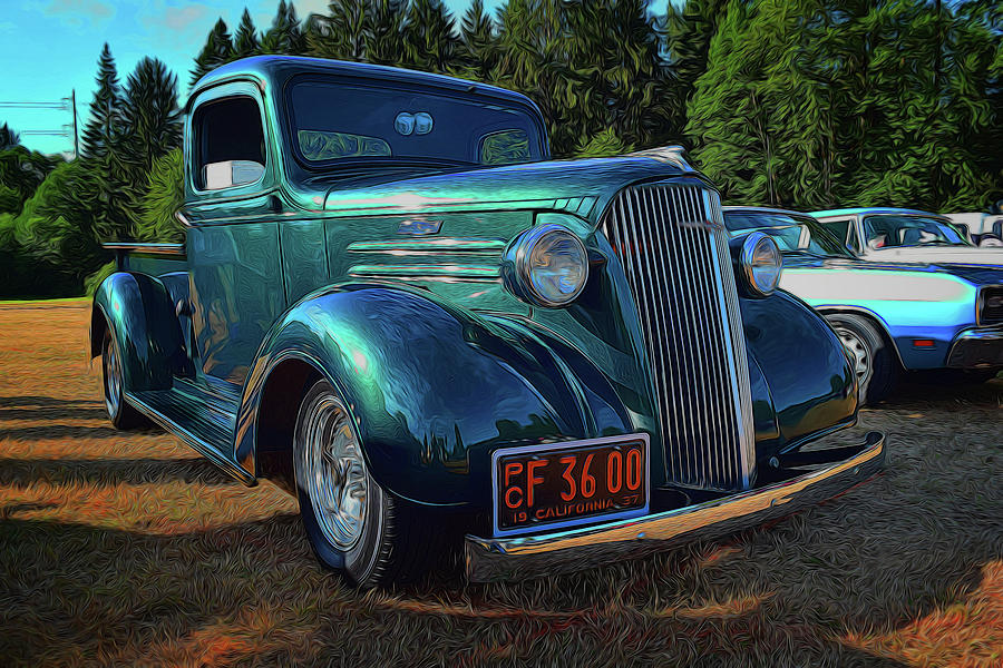 1937 Chevrolet Pickup by Richard Farrington