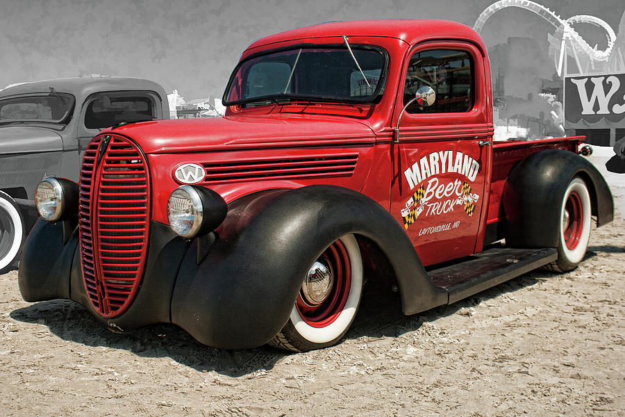 1938 Ford Truck >> 1938 Ford Pickup Rat Rod