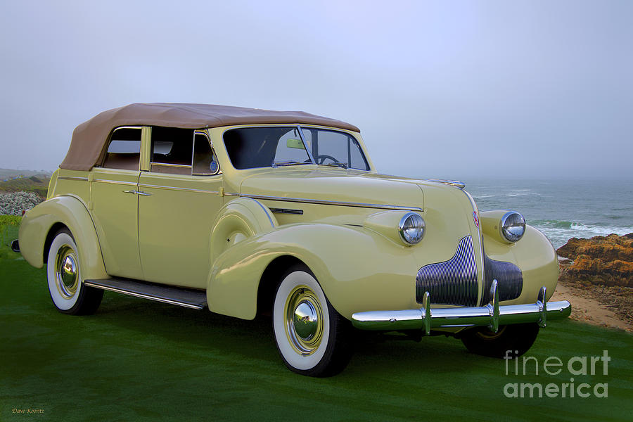 1939 Buick Roadmaster Convertible Sedan Photograph By Dave Koontz