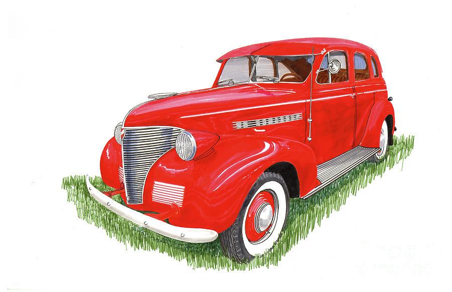 1939 Chevrolet Master Deluxe Sedan Painting