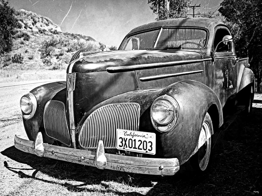 Studebaker Truck Photograph - 1939 Studebaker Coupe Truck by Glenn McCarthy Art and Photography
