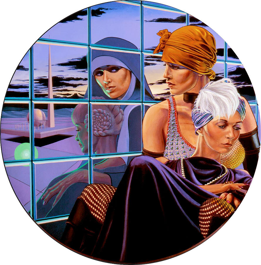 Mirror Image Painting - 1939 The World On The Brink by George Torjussen