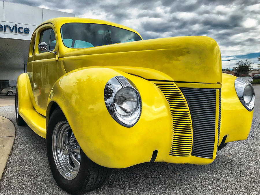 Car Photograph - 1940 Ford Deluxe Coupe by Mark Guinn