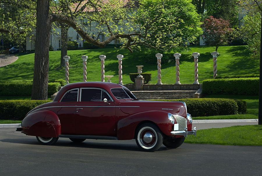 1940 Mercury Photograph - 1940 Mercury Coupe by Tim McCullough