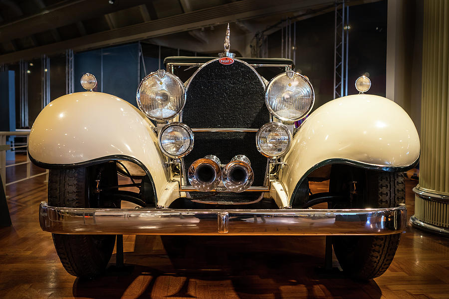 Detroit Photograph - 1941 Bugatti Type 41 Royale At The Henry Ford Museum by Edward Nowak