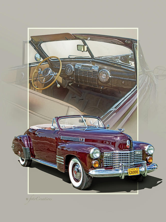 1941 Cadillac 62 convertible coupe by Roger Beltz